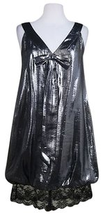 Miguelina Womens Black Dress