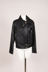 Mike & Chris Leather Black Jacket