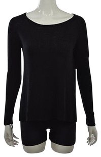 Millau Womens Scoop Neck Cotton Long Sleeve Shirt Sweater