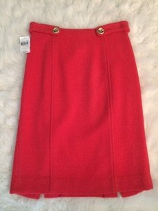 MILLY New Skirt Coral