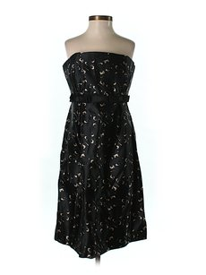 Milly of New York Silk Lace Empire Waist Dress