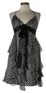 MILLY Silk Polka Dot Dress