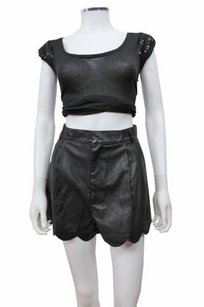 MINKPINK Sport Luxe High Shorts Black