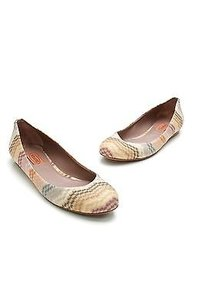Missoni Chevron Multicolor Flats