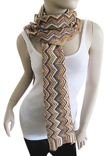 Missoni Missoni Zig-zag Wool Blend Scarf 74 Long X 13 Wide