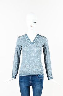 Missoni Gray Metallic Sweater