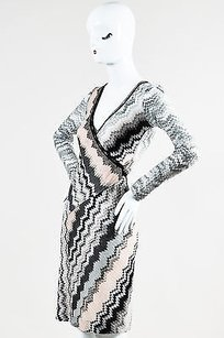 Missoni Gray Black Pale Pink Dress
