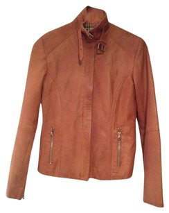 Mitici Anni 60 Italian Leather Tan Leather Jacket