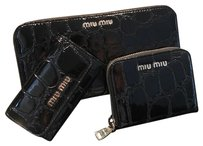 Miu Miu 5ML506 5PG222 zippy wallet key case coin case card case