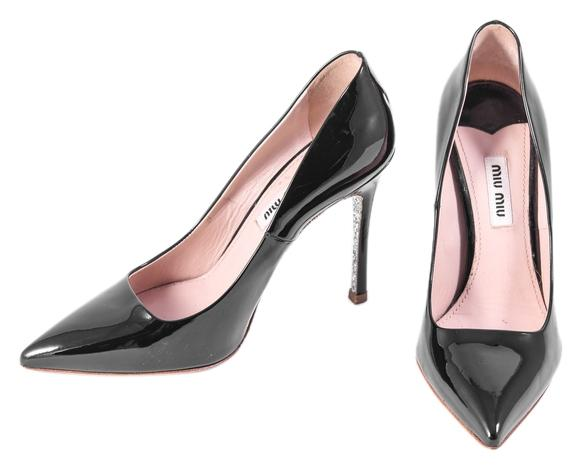 buy cheap buy Miu Miu Pointed-Toe Leather Pumps cheap price discount authentic 100% original sale online cheap USA stockist xh94AC