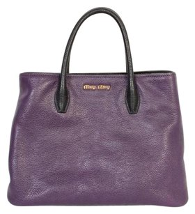 Miu Miu Tote in Purple