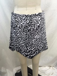 MLM Leopard The Label Spike Point Mini Skirt Black/ White