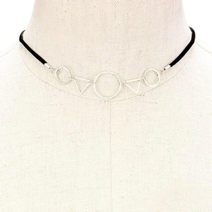 Modern Edge Choker Necklace