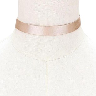 Modern Edge Satin Choker Necklace