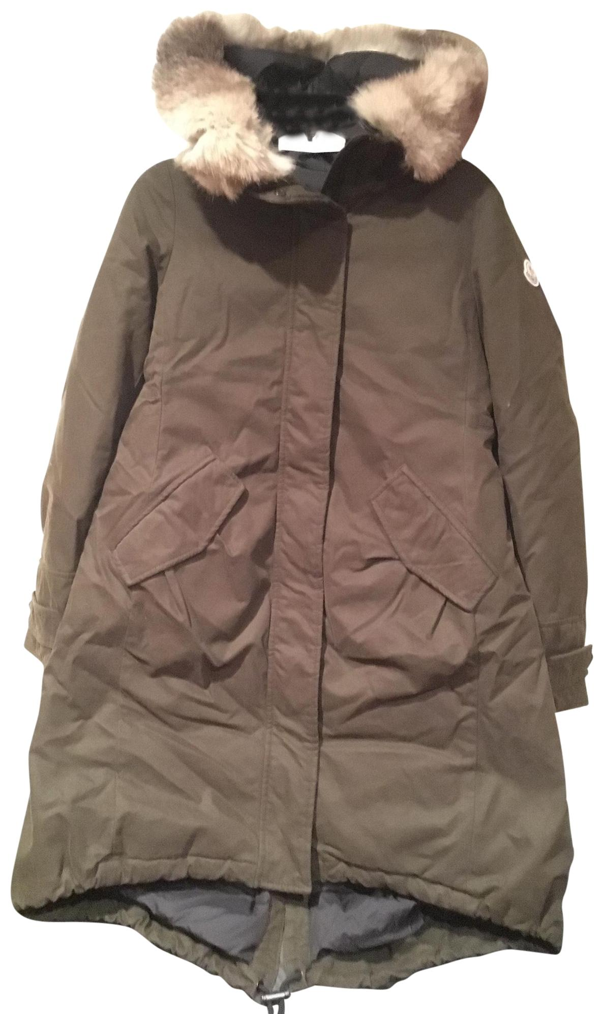 d312a186a8a0 cheap moncler khaki jacket ef7ca cd738