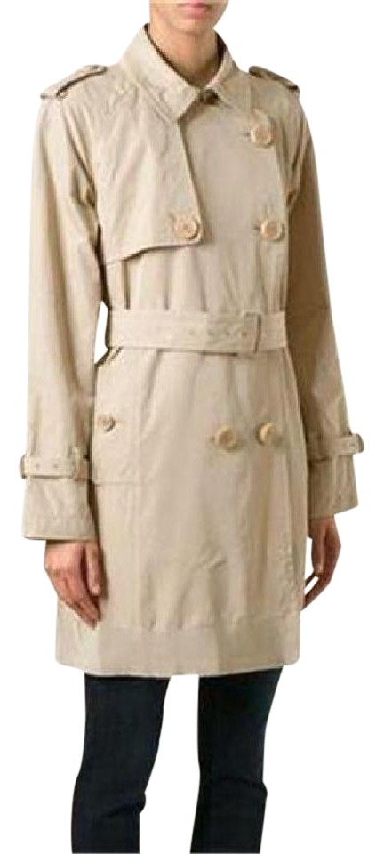 Moncler Belted Trench Delmas Raincoat ...