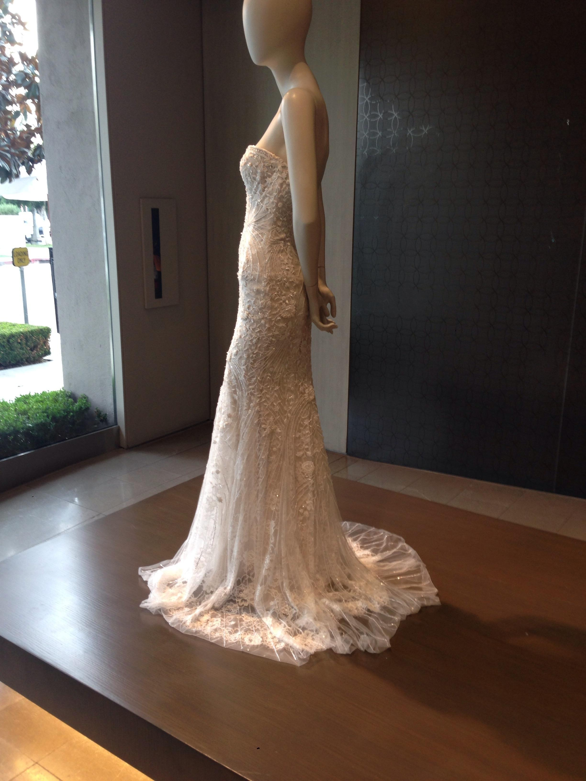 monique lhuillier wedding dress prices lhuillier gwyneth wedding dress on 44 5991