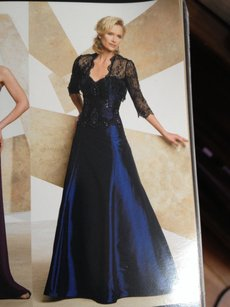 Montage Black/Royal 27915 Dress