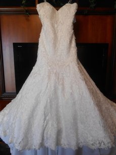 Mori Lee Brand New Angelina Faccenda Wedding Dresses - Style 1281 Wedding Dress