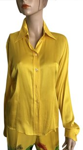 Moschino Button Down Shirt Yellow