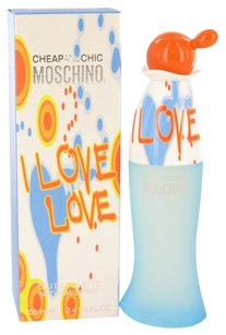 Moschino I Love Love By Moschino Eau De Toilette Spray 3.4 Oz