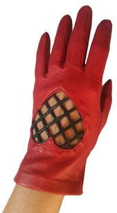 Moschino Moschino Soft Leather Gloves