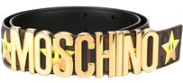 Moschino MOSCHINO Star logo belt