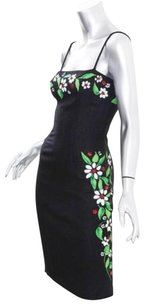 Moschino Womens Painted Dress