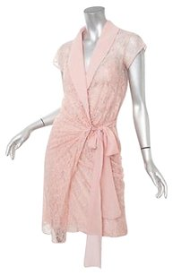 Moschino Cheap And Chic Womens Classic Silk Lace Wrap 406 Dress