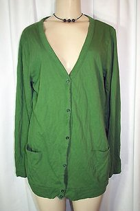 Mossimo Supply Co. Solid Button Green Jacket
