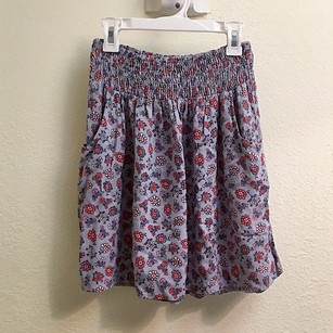 Mossimo Supply Co. Floral Flowy Skirt