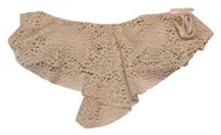 Mossimo Supply Co. lace, flutter Bandeau bikini top