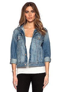 Mother Sample Even Womens Jean Jacket