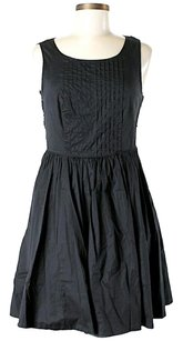 Moulinette Soeurs short dress Black Pleated Lace on Tradesy