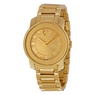 Movado Bold Champange Dial Ladies Quartz Watch MV3600323