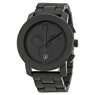 Movado Bold Chronograph Black Bracelet Men's Watch MV3600048