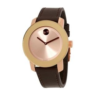 Movado Bold Rose Dial Ladies Watch MV3600380