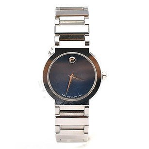 Movado Ladies Sapphire Movado Watch Model 89.c1.1841 With Blue Dial