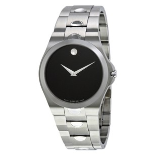 Movado Luno Black Dial Men's Watch MV0605556
