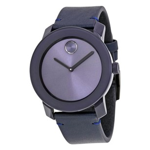 Movado Movado Blue Stainless Steel and Unisex Watch