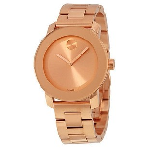 Movado Movado Bold Rose Dial Rose Gold-tone Stainless Steel Ladies Watch
