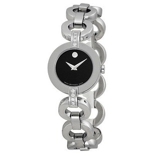 Movado Movado Ladies Bela Moda Stainless Steel Bracelet Watch
