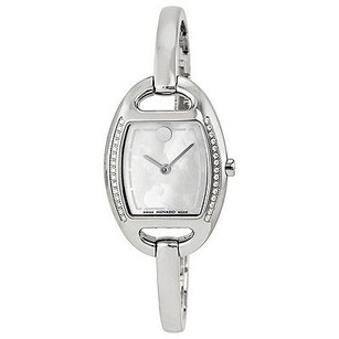Movado Movado Miri Diamond Mother Of Pearl Stainless Steel Ladies Watch