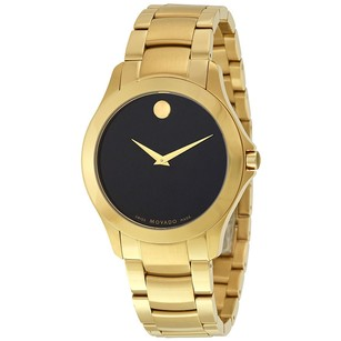 Movado Movado Yellow Gold Stainless Steel Watch