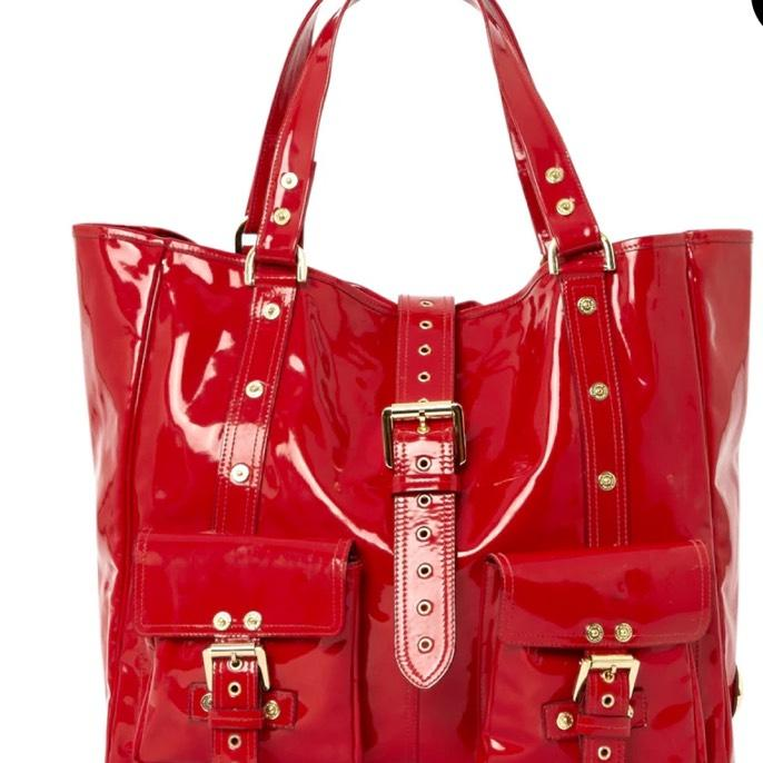 b3aa739cfa ... official store mulberry roxanne red patent leather tote tradesy c7f14  9362e