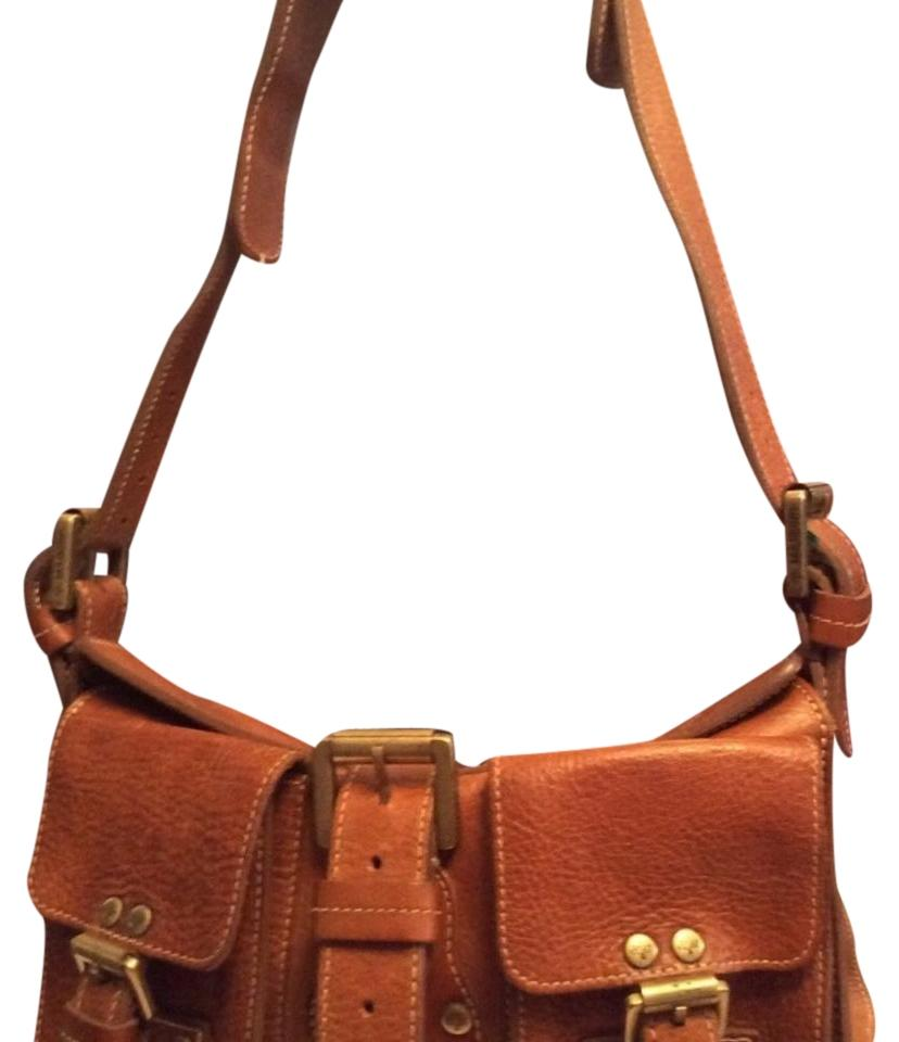 07d8b3e8ad1f 12345678910 dd632 01b2d  usa mulberry roxanne tan leather with suede  interior shoulder bag tradesy 0e2b9 58950