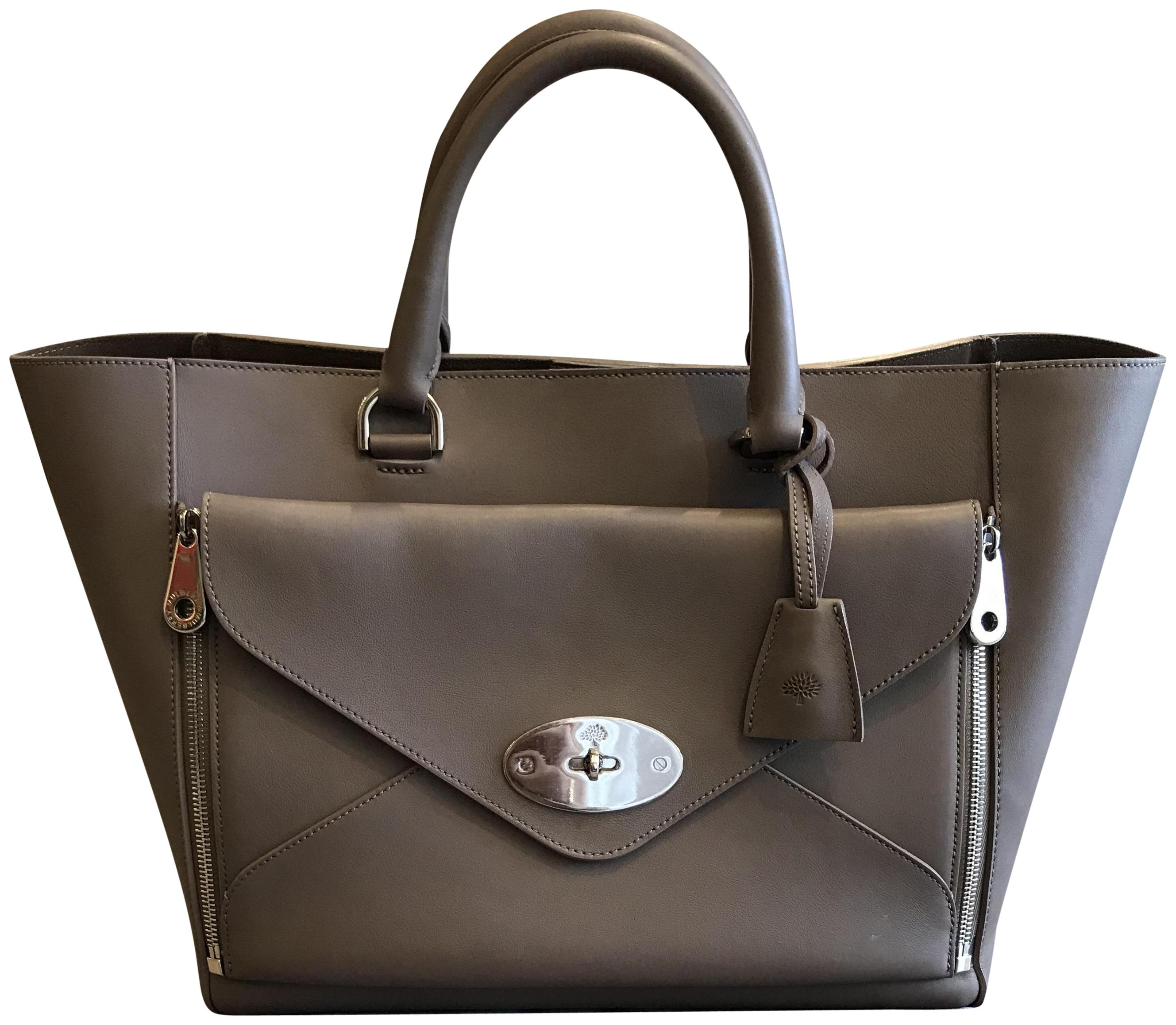 ... willow tote leather tote 006cc fa8af discount code for mulberry tote in  grey taupe 18c0b 15072 ... 7876cdac6d407
