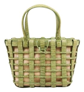 Nancy Gonzalez Green Tote