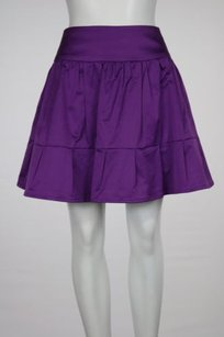 Nanette Lepore Womens Skirt Purple