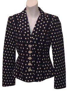 Nanette Lepore Navy & White Jacket